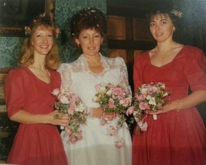 Maggie's Wedding - 25 years ago.