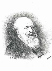 Portrait of Dr John Birt Davies (Ref: Edgbastonia Vol II No. 11. 15 March 1882)